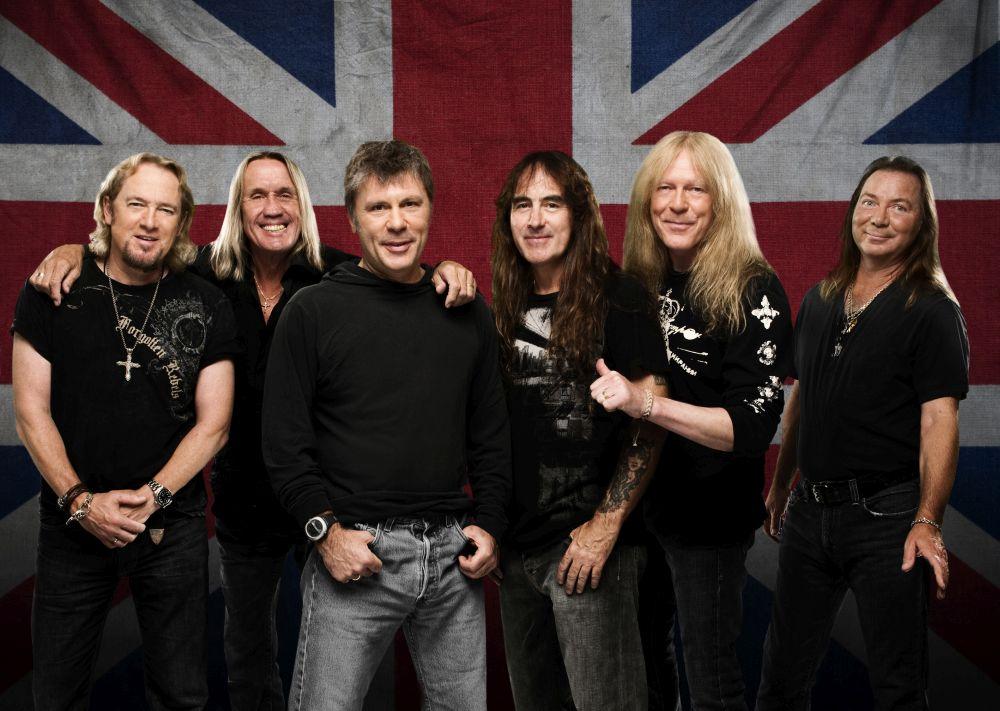 Iron Maiden přivezou dvacátého června 2018 do Prahy především hity osmdesátých let