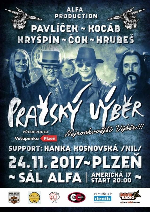 Pražský výběr – nejrockovější výběr v plzeňské ALFĚ!