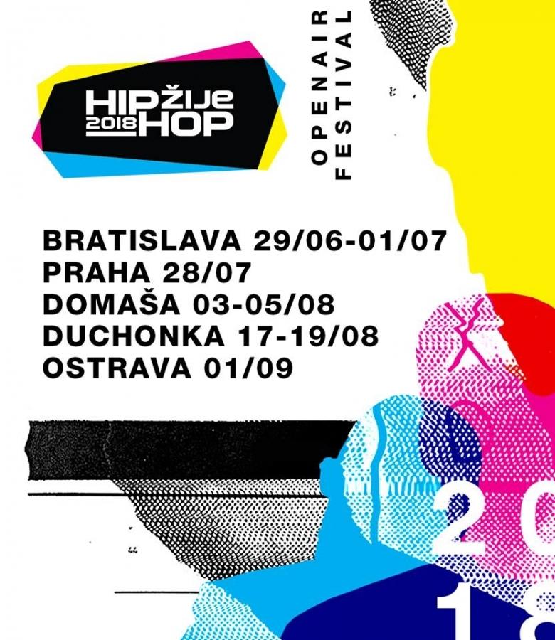 """Festival """"Hip-Hop Žije"""" sa rozrastá"""
