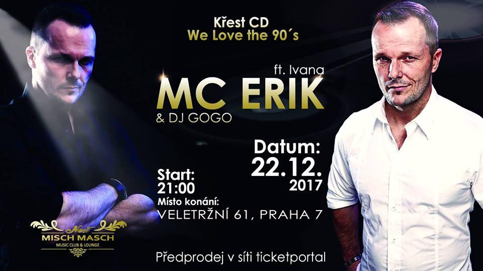 MC ERIK ohlásil comeback a s ním vydává i nové CD
