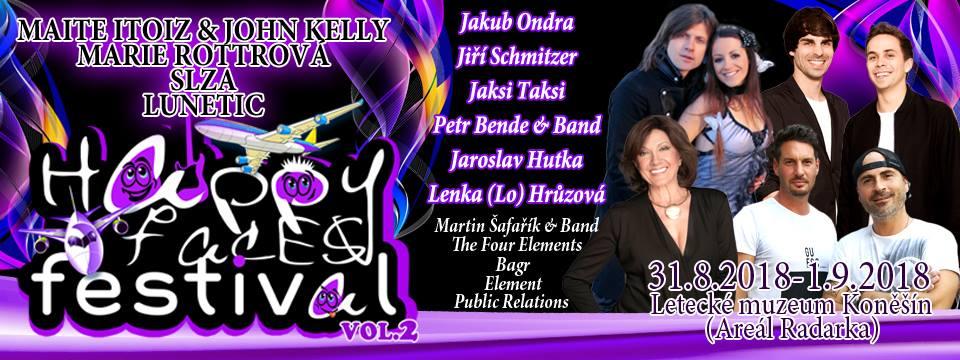 Festival spojující generace: V Koněšíně vystoupí Marie Rottrová, skupina Slza nebo člen Kelly Family.