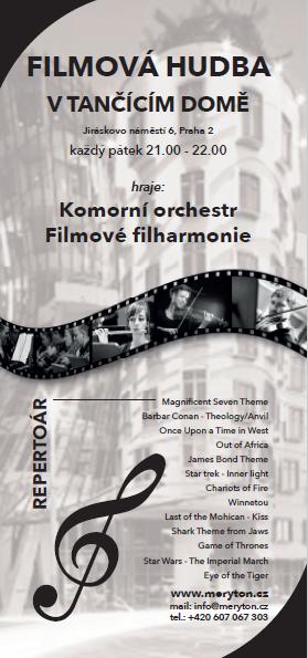 Galerie Tančícího domu ožije filmovou hudbou!