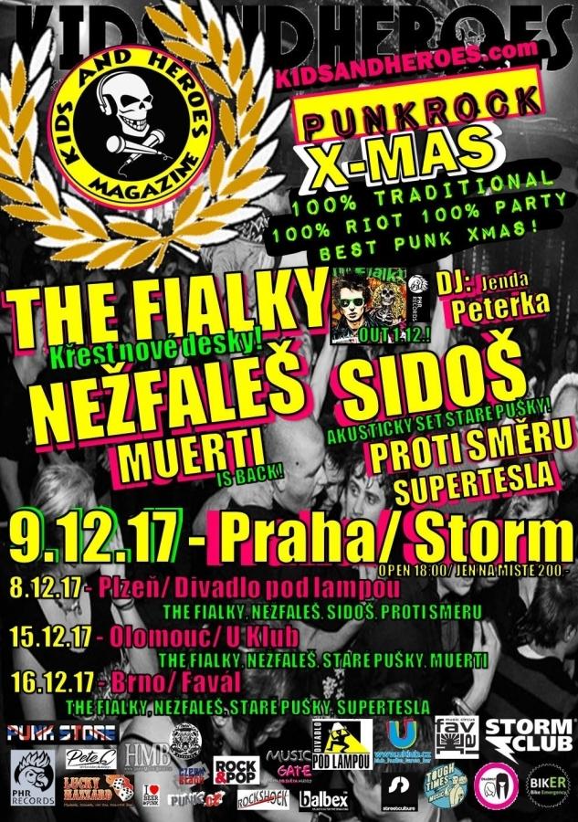 Punkrockový Vánoce - Kids & Heroes Punkrock X-Mas