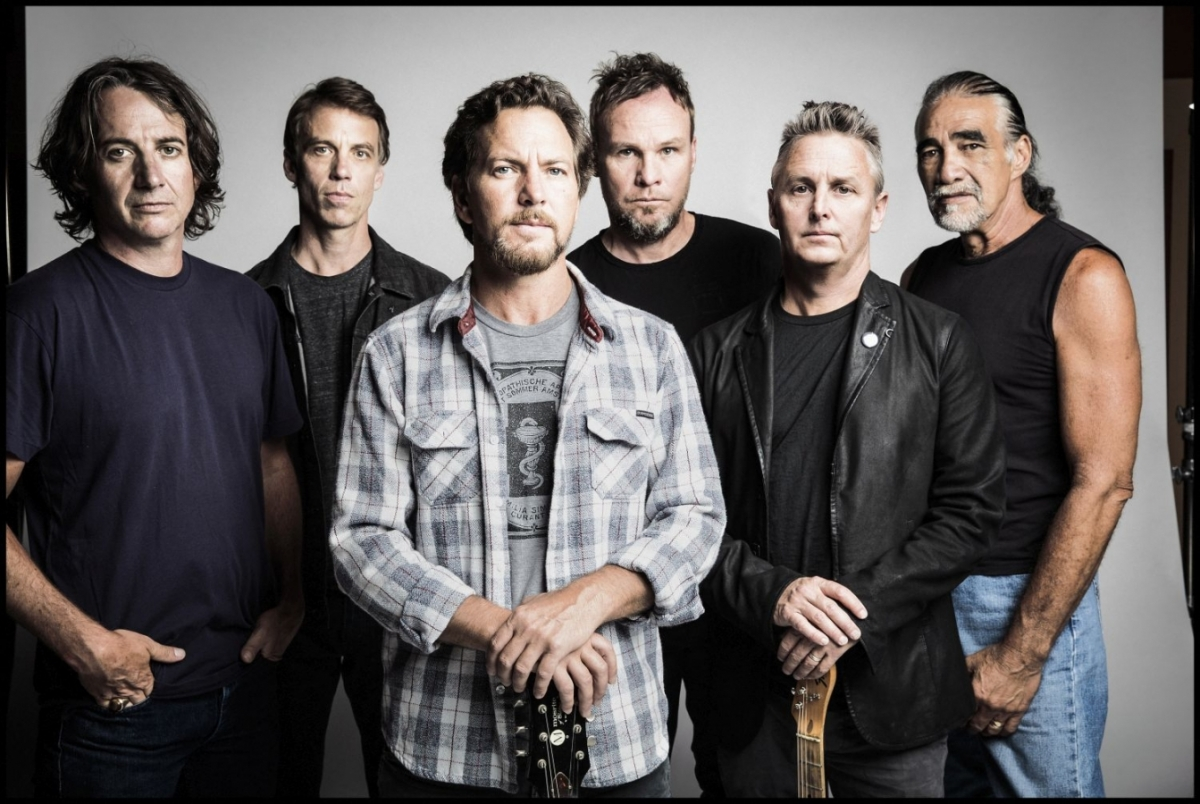 Pearl Jam zahrají v červenci 2018 v Praze