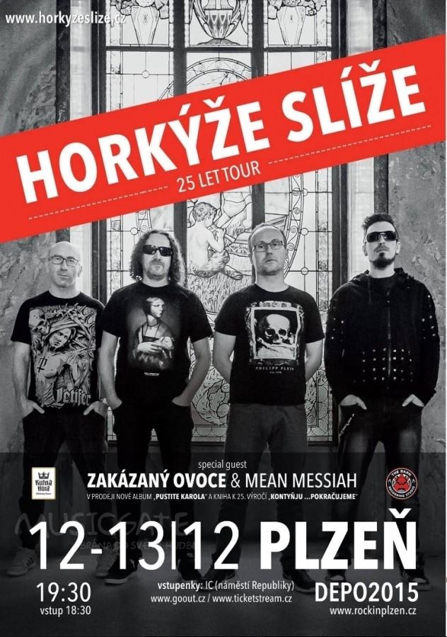 Horkýže Slíže v Depu 2015 Plzeň
