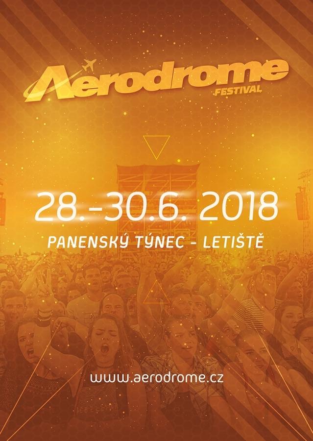 Aerodrome festival se promění v třídenní multižánrovou přehlídku zahraničních hvězd