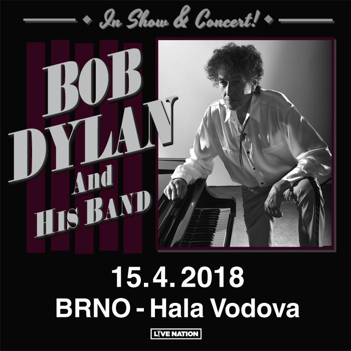 Bob Dylan odehraje koncert v Brně