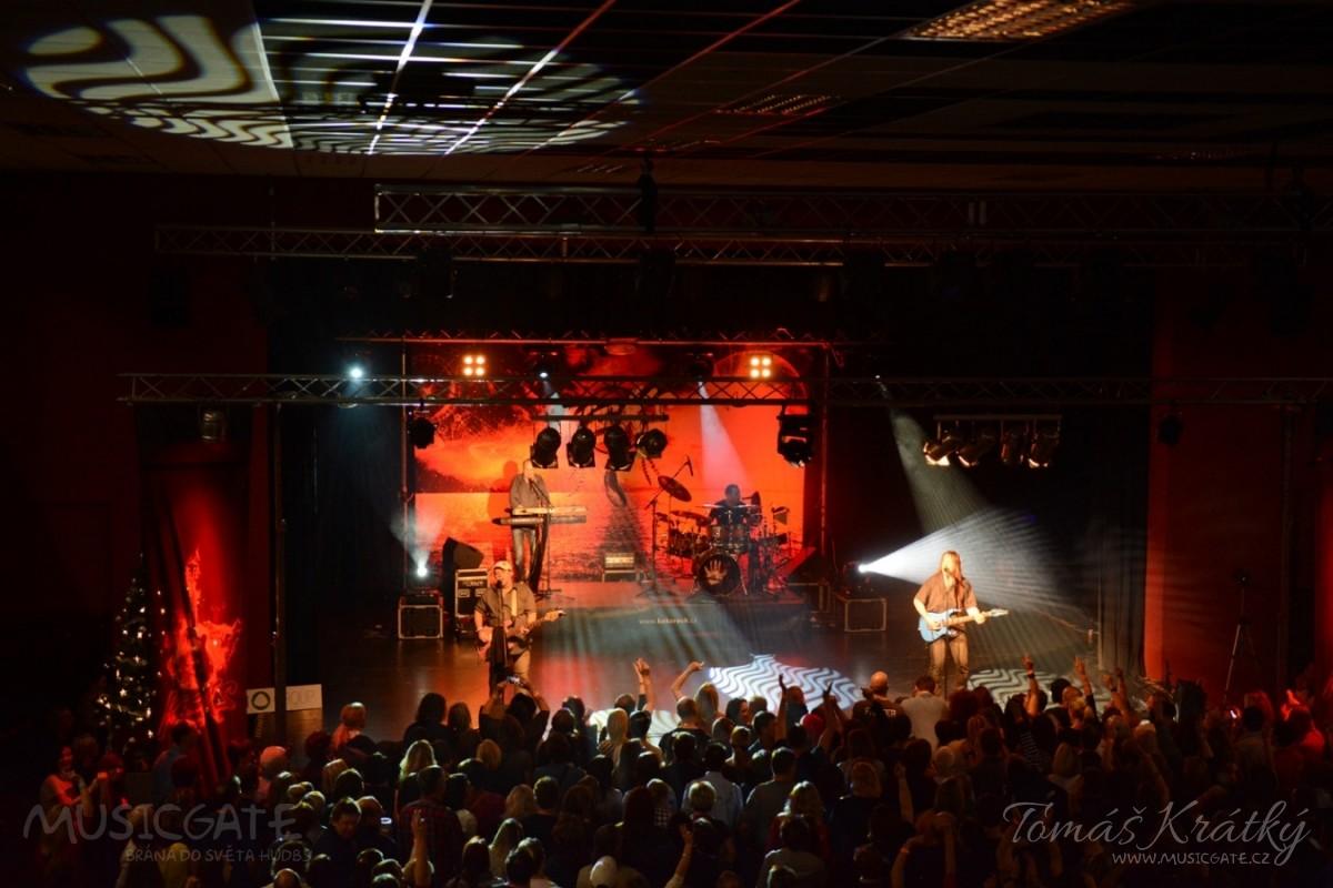 Vánoční rockový koncert v Benešově.