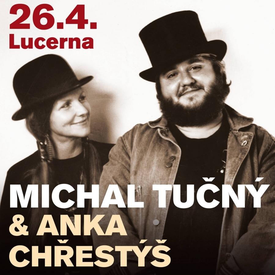 Michal Tučný, přátelé a Anka Chřestýš v Lucerně