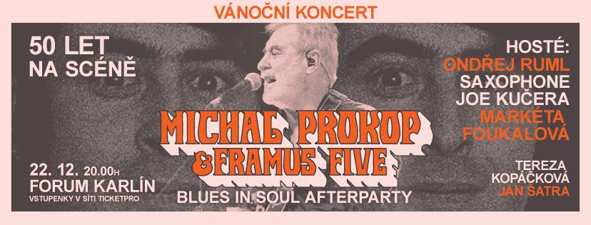 Praha, 20. prosince 2017 - Michal Prokop a Framus Five vánoční koncert