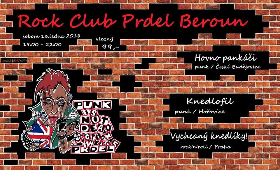 Punks not Dead action in Prdel vol. 5 v Berouně