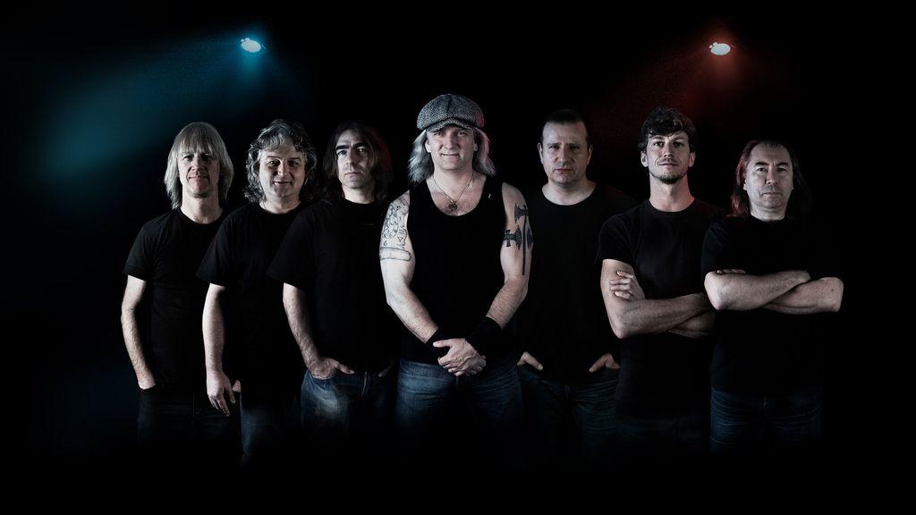 AC/DC revival Špejbl´s Helprs  v klubu Labe
