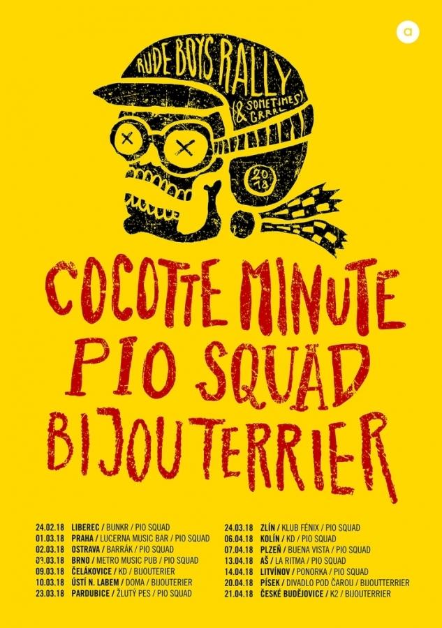 Cocotte Minute a Pio Squad vyrážejí na spanilou jízdu