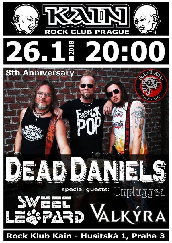 Dead Daniels vás zvou na svou narozeninovou oslavu.