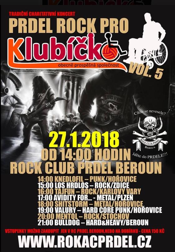 Prdel rock pro Klubíčko vol. 5
