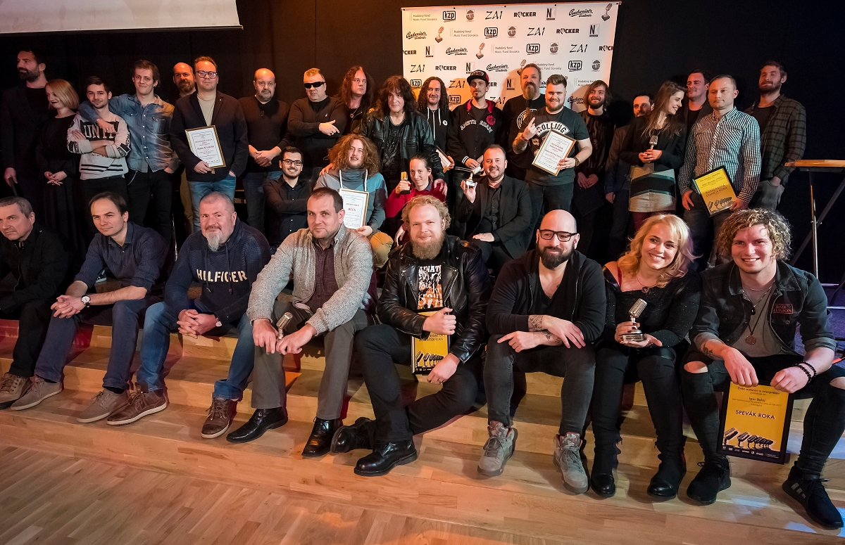 Výroční ceny ZAI za rok 2017 na Slovensku získali Horkýže Slíže, Sima Martausová, Roman Bomboš a Dobrý festival!