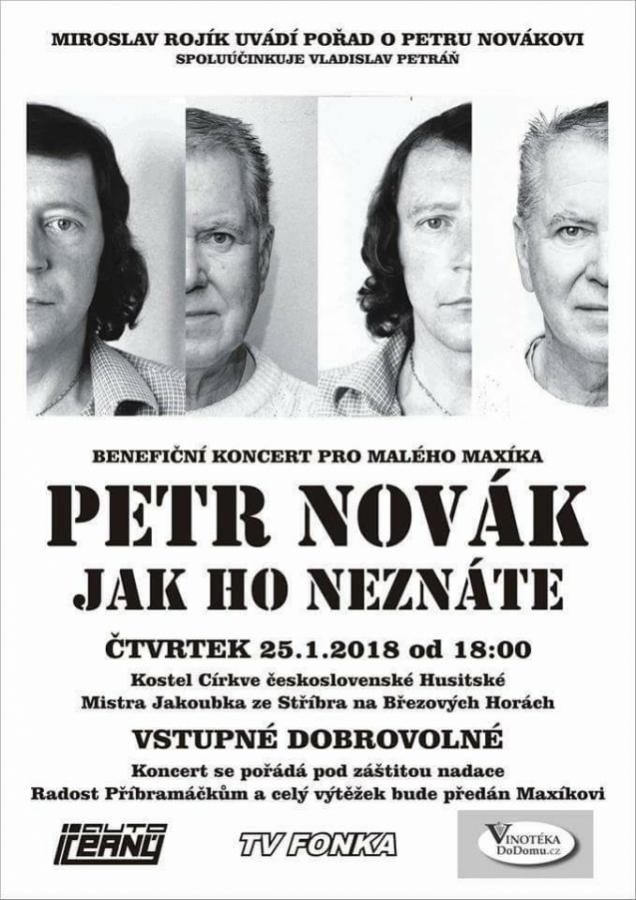 Petr Novák, jak ho neznáte.