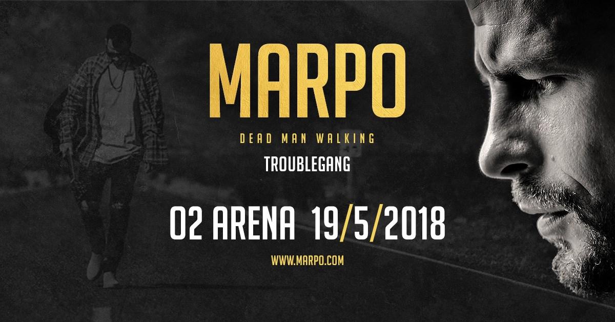 MARPO v O2 aréně. Největší koncert českého rapu v ČR.