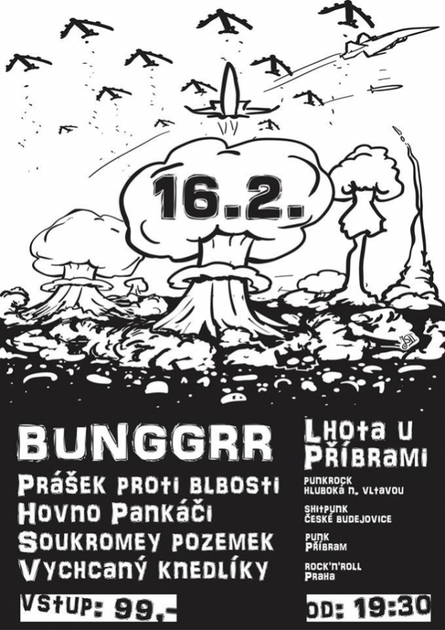 Punkový dýchánek v Bunggrru!