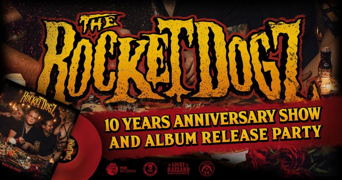 The Rocket Dogz oslaví stylově 10 let své existence