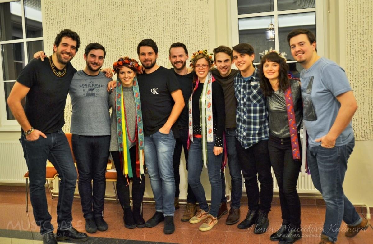 A je to tady! Jeleni zahájili svoje turné v Berouně!