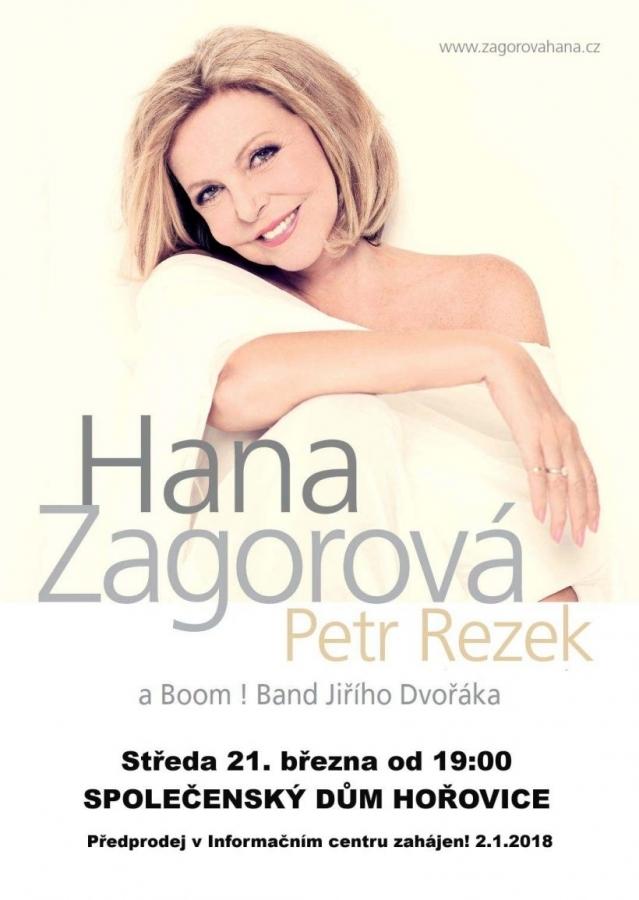 """"""" Duhová víla"""" Hanka Zagorová se speciálním hostem Petrem Rezkem rozezní Společenský dům v Hořovicích!"""