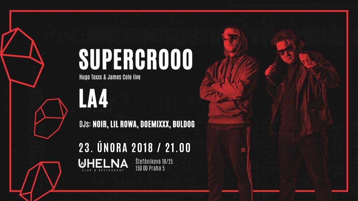 Supercroo v Uhelně již příští pátek!