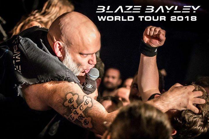 Metalová legenda Blaze Bayley po roce opět rozpálí plzeňskou Šeříkovku!