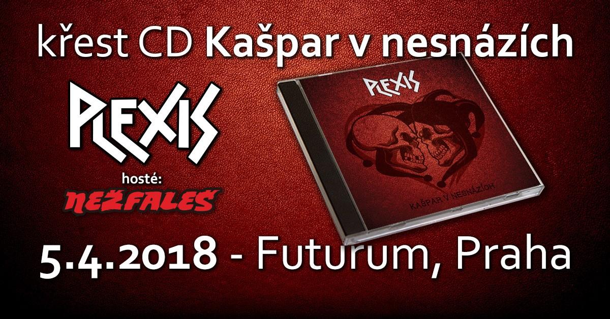 Plexis pokřtí nové CD v klubu Futurum