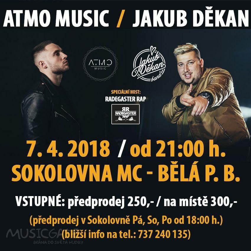 Bělá pod Bezdězem přivítá HIP-HOP, vystoupí ATMO music, Jakub Děkan a speciální host RADEGASTER RAP
