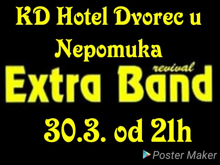 Extra Band Revival ve Dvorci u Nepomuka