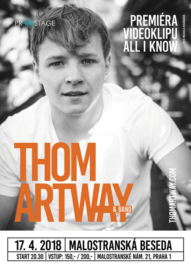 Thom Artway zveřejňuje trailer k chystanému klipu All I Know, láká  na příběh lásky, ladné gymnastky  i londýnské ulice
