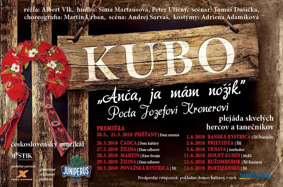 Přichází nový muzikál Kubo, je poctou Jozefovi Kronerovi