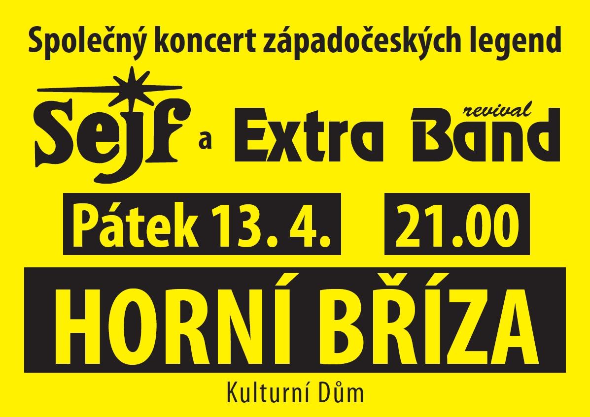 Společný koncert západočeských legend