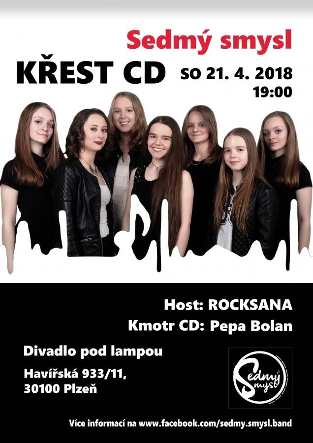 DÍVČÍ KAPELE SEDMÝ SMYSL POKŘTÍ CD PEPA BOLAN Z MANDRAGE