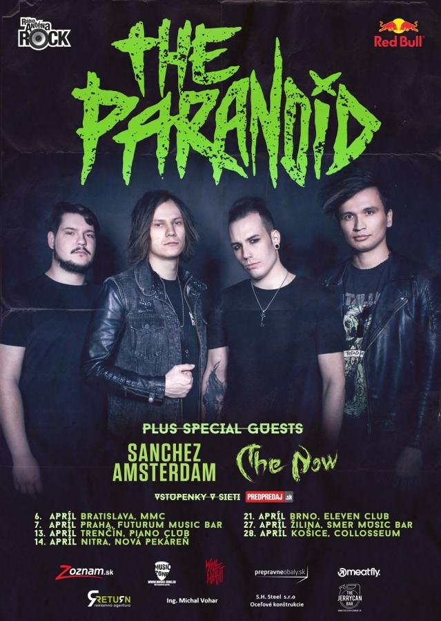 Skupina The Paranoid odstartovala turné s novým zpěvákem a světelnou show!