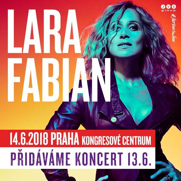 Lara Fabian navštíví Prahu