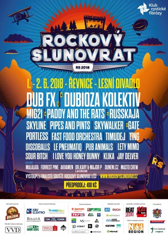 Rockový Slunovrat bude letos dvoudenní