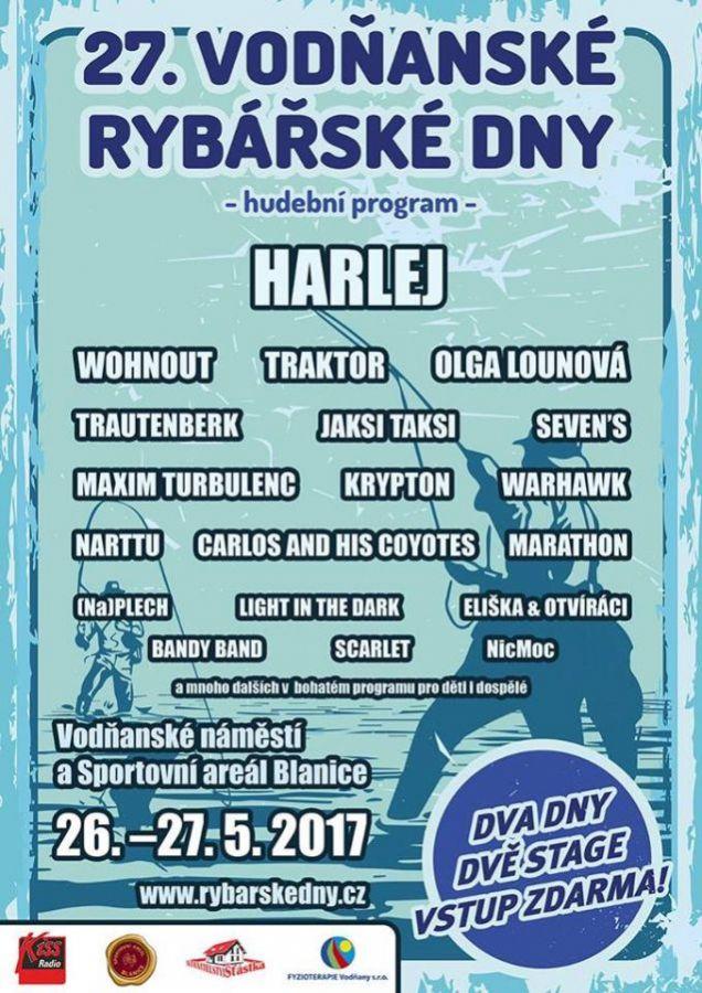 Vodňanské rybářské dny 24. – 27. 5. 2017