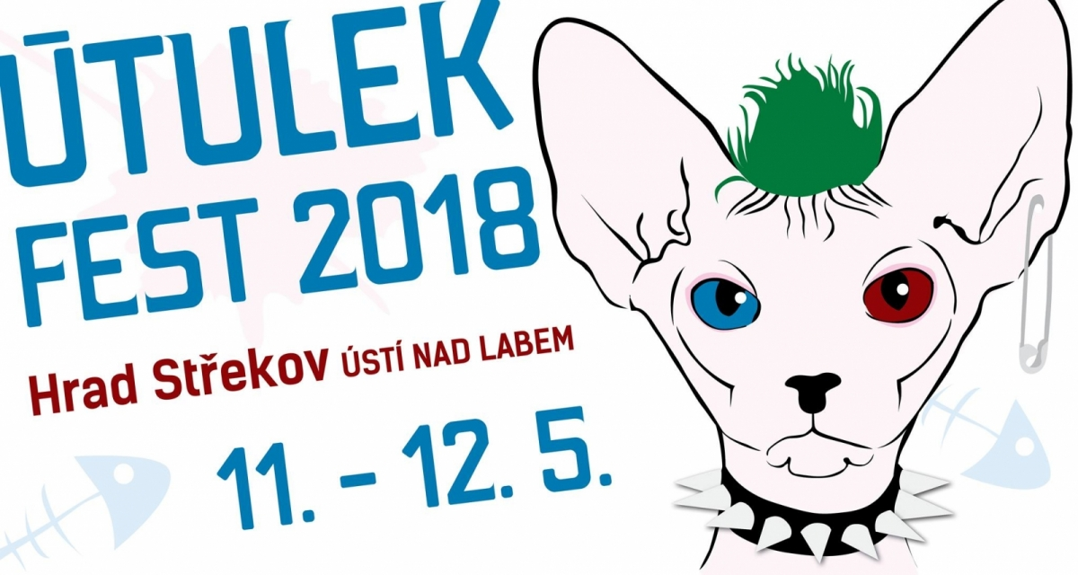 """Soutěž o """"volňásky"""" na Útulek fest 2018!"""