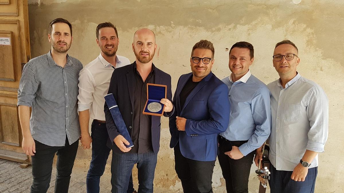 Skupina No Name dostala Cenu města Košice za přínos k popularizaci města  na Slovensku i v zahraničí!