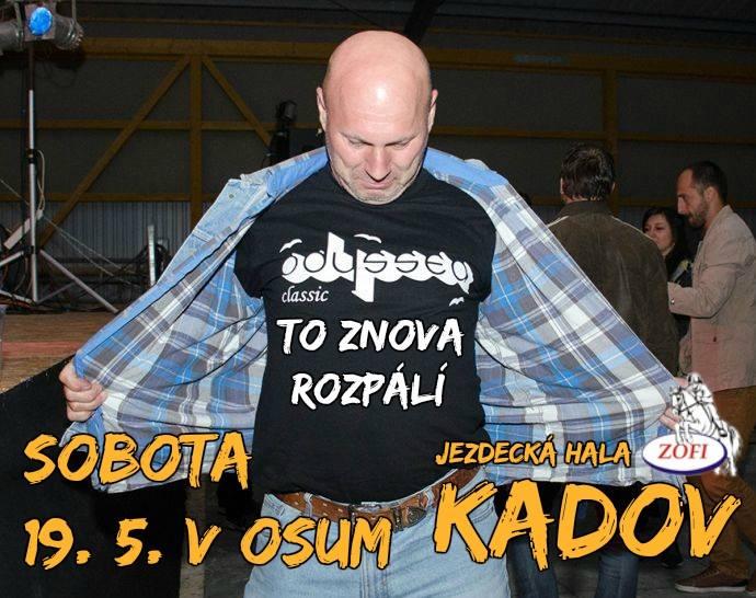 Legendární Odyssea rock zahraje v Kadově