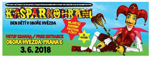 Největší český rodinný festival Kašpárkohraní oslaví  10. narozeniny první červnovou neděli v Oboře Hvězda