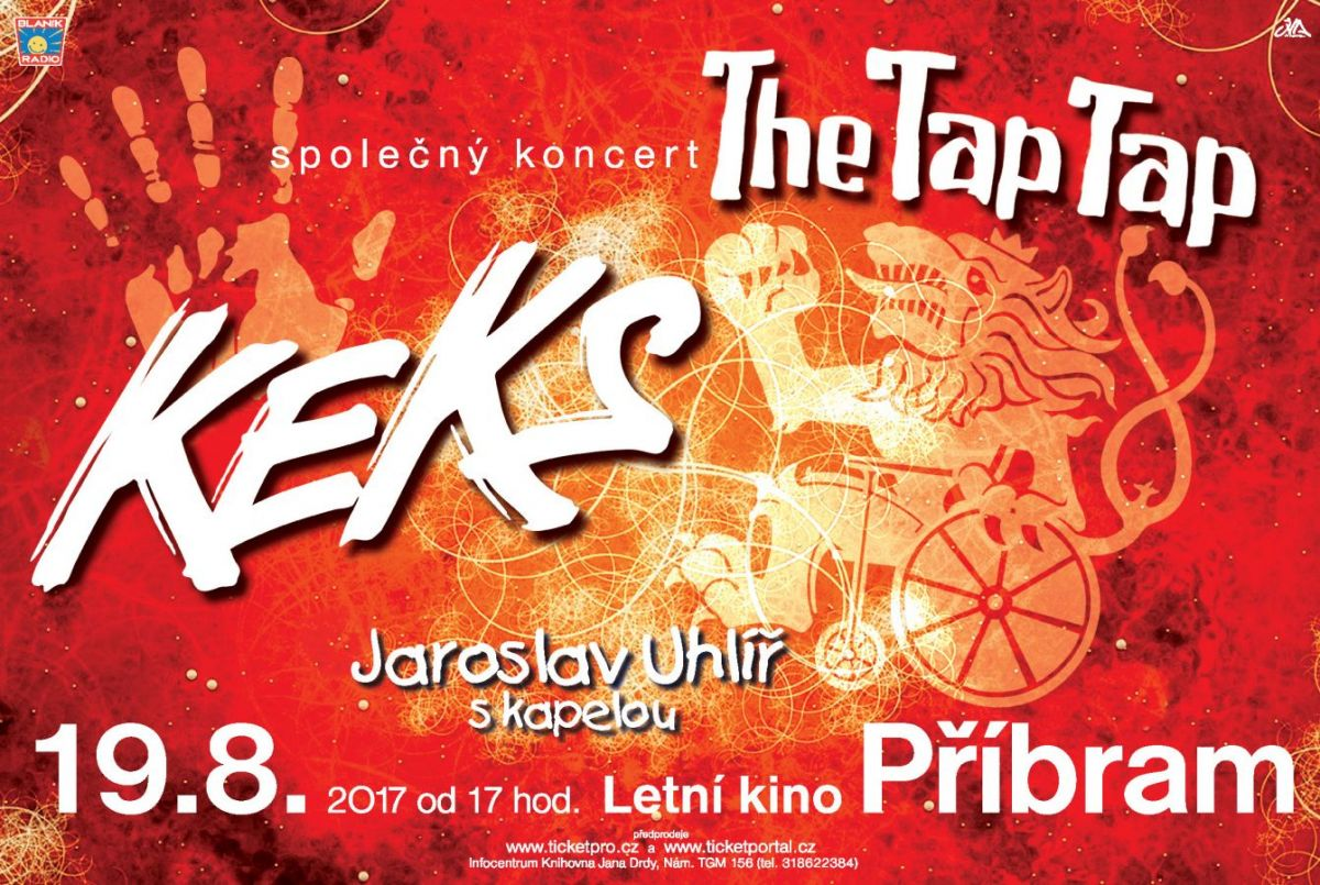 Keks, The Tap Tap, Jaroslav Uhlíř s kapelou