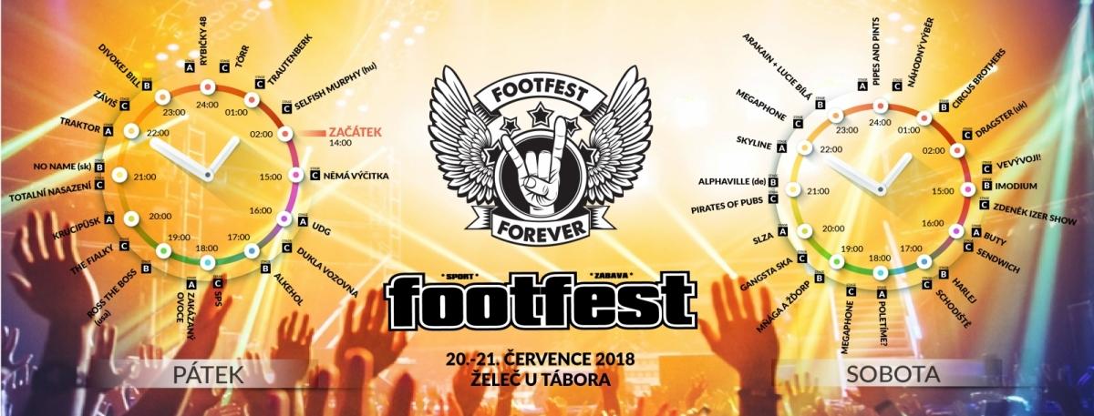 Přestupte do vyšší ligy s FOOTFESTEM 2018!