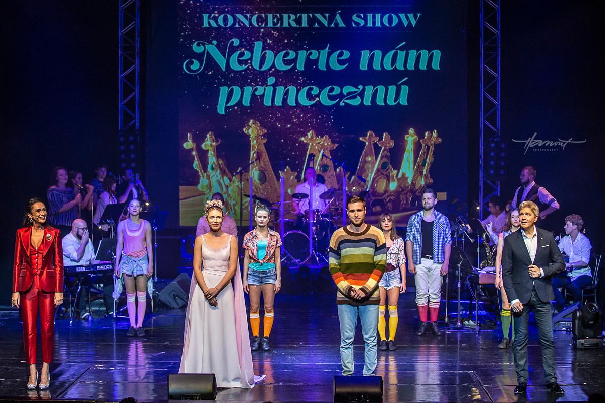 Koncertní show Neberte nám princeznú si na premiéře vysloužila standing ovation