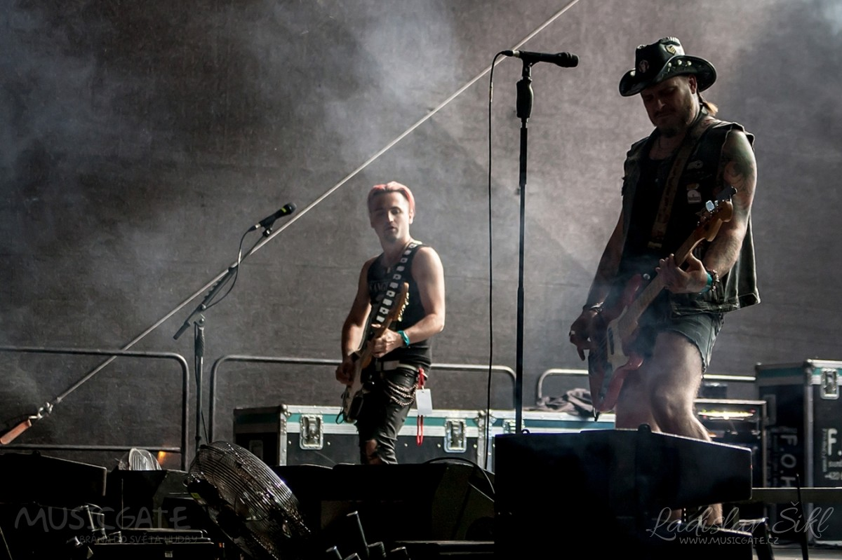 Kapela Rybičky 48 ovládla festival Rockové Hranice