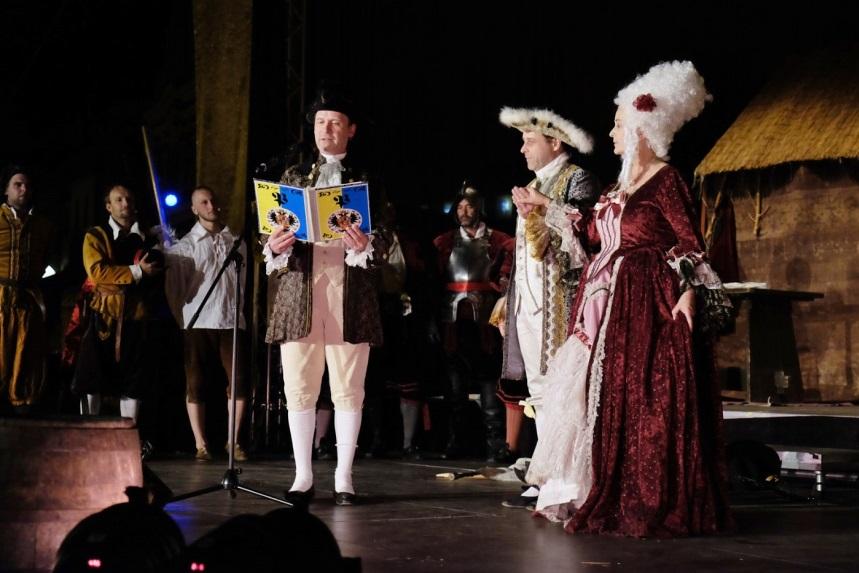 Městská slavnost Dotkni se Písku 2018 aneb Od Marie Terezie k Františku Josefovi