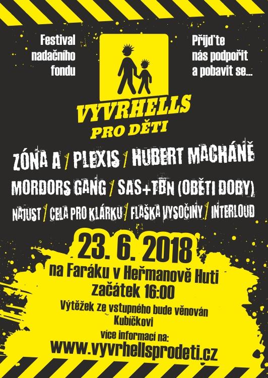 Hudební festival Vyvrhells pro děti 2018