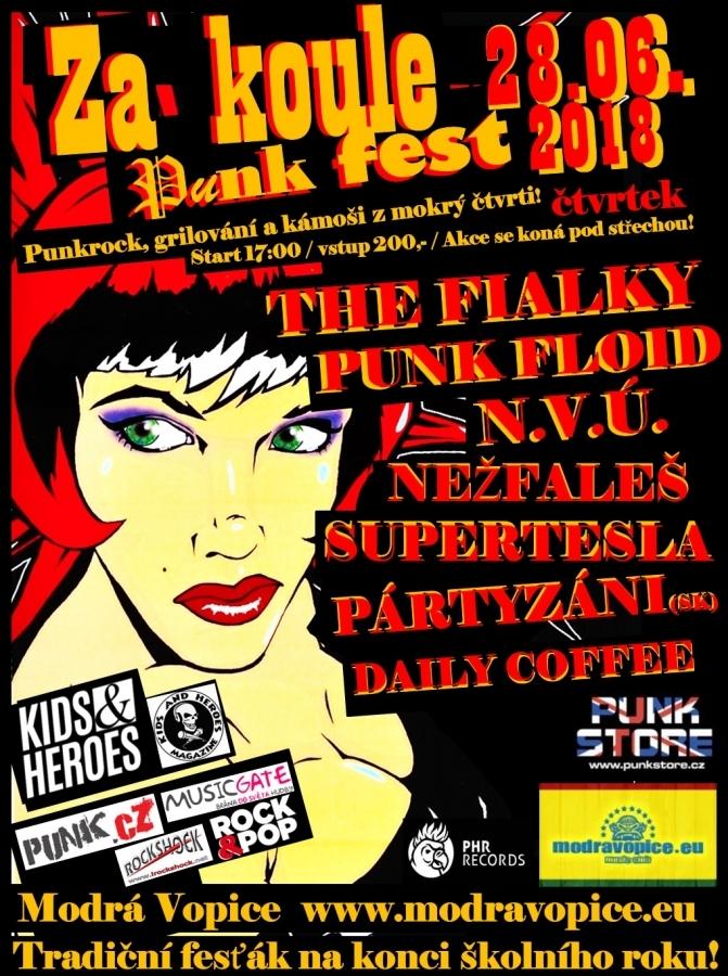 Zneuctil zpěvák Punk Floid 25 let starou tradici Zakoule punk festu?!